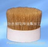 white boiled bristle
