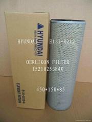 high performance hydraumatic filter for Hyundai excvavtor R220-7