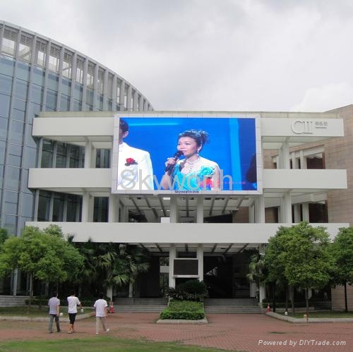 P25 outdoor led display 1
