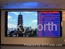 P7.62 indoor video LED display
