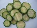 IQF green zucchini