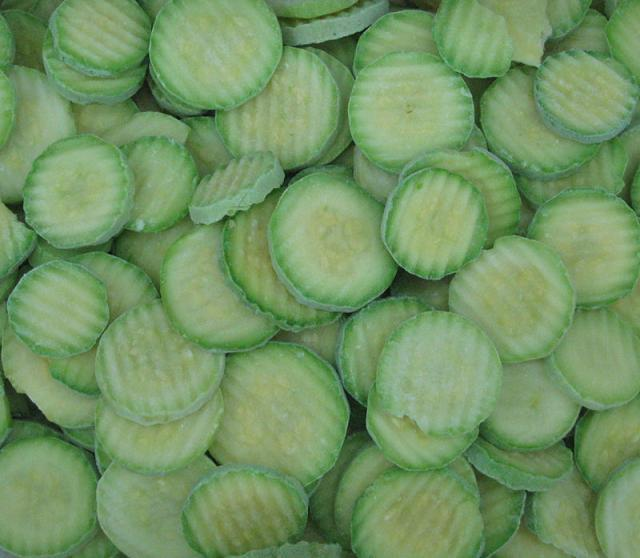 IQF green zucchini 2