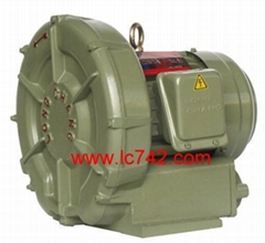 Hi-pressure Blower - LVF-Series - housing of machine is cast by Aluminum Alloy