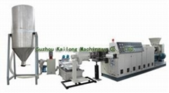 Crushed PE Material Pelletizing Line