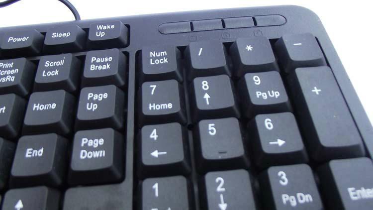 有线usb防水键盘厂家批发1108 4