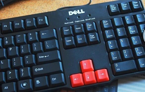 优必信2207游戏USB有线防水键盘 2