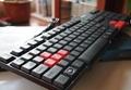 优必信2207游戏USB有线防水键盘 3