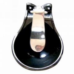 cast iron bowl drinker for swine