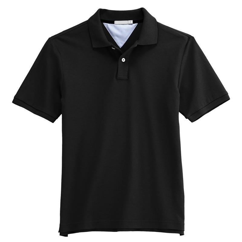 Polo shirt plain color blank polo t shirt bns456 for One color t shirt