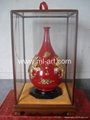 Magnificence Red Vase