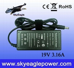 Acer 60w 19v 3.16a ac adapter