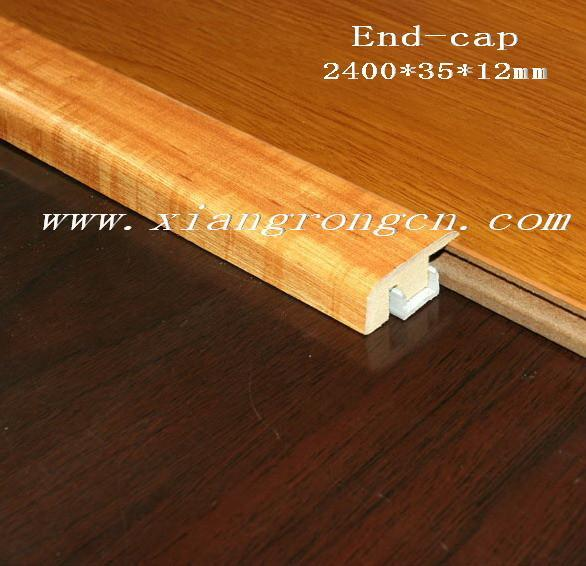 Carpet end molding laminate flooring accessory