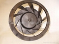 Axial fan mould