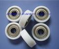 coated with nylon bearing