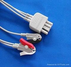 Nihon Konden ECG cable and leadwires