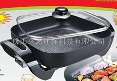 韓式電熱電炒四方鍋
