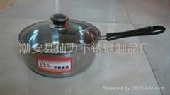 不锈钢奶锅