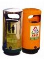 上海廠家直銷各種環保垃圾桶 4