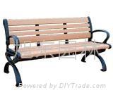 環保木戶外長椅