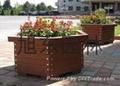 實木木質花箱 3