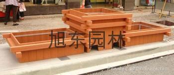 獻縣木質花箱 2