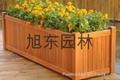 木質花箱花盆 1