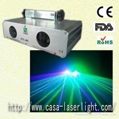 2 lens Green+Violet blue laser equipment