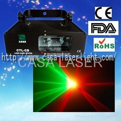 Favorable price DMX Red+Green laser show