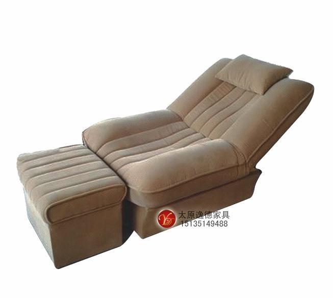 太原市逸德家具有限公司是一家专业生产足疗沙发,洗浴沙发的企业。公司秉承用料考究、工艺独特、品质优越、服务完善的企业理念,先后研发了具有多种功能且款式新颖的足疗沙发(无极自动控制、手动控制、电动控制、双电动机械结构且具有液晶电视控制系统),多功能足疗床,按摩床,搓背床等相关产品。