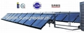 50 tubes non pressure solar collector SRCC approved for large project 3