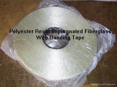 2840/2843—insulation W-Epoxy resin impregnated fiberglass binding tape