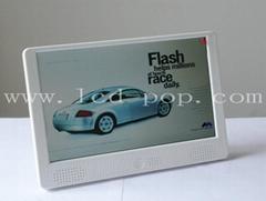 10.2in lcd advertising digital media player