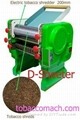Electric tobacco cutting machine /