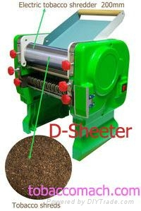 Electric tobacco shredder / Tobacco machine / Cigarette machine 1
