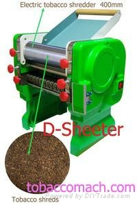 Electric tobacco shredder / Tobacco machine / Cigarette machine 3