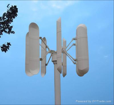 vertical axis wind power generator 3KW 1