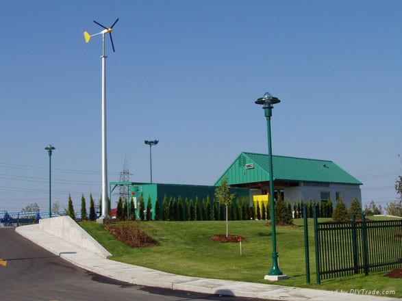 horizontal axis wind power generator 600W 1