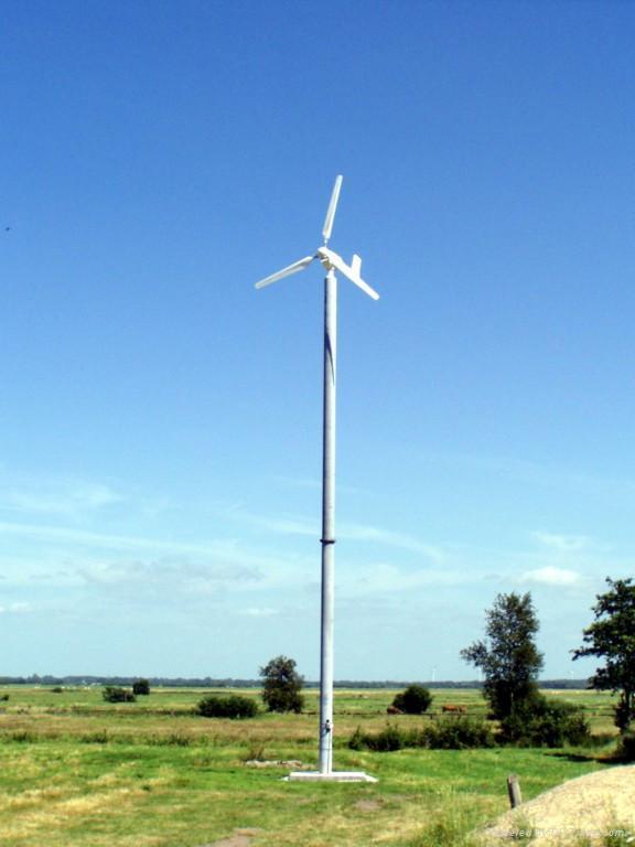 horizontal axis wind power generator 5KW 1