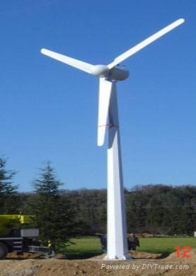 horizontal axis wind turbine generator 50KW  1