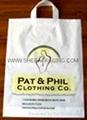 handle poly bags plastic handle bags die