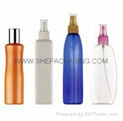 Cosmetic Packaging Container cosmetic plastic bottle PET Bottles PE Bottles