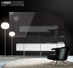 莱克斯瑞32寸玻璃电视