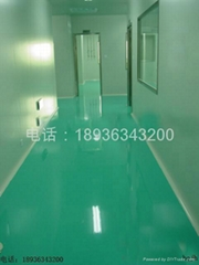 上海环氧自流平防静电工业地坪系列