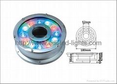 LED Fountain Light Ring 9w/12w/27w