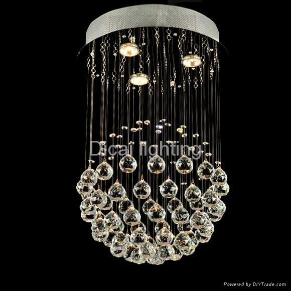 modern crystal ceiling lamp/light 6002-3 1