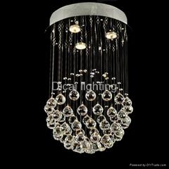 modern crystal ceiling lamp/light 6002-3