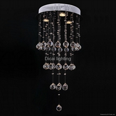 simple modern crystal ceiling light 6004-3