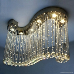 new design crystal ceiling lamp/lighting 7001-6