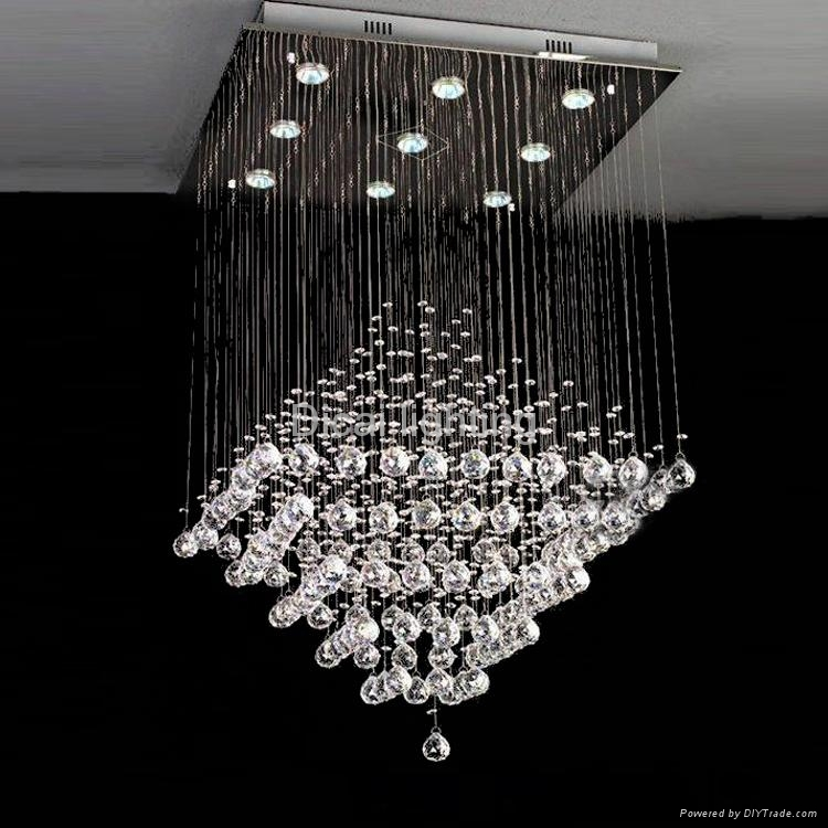 good quality and competitive price crystal pendant light lamp 8013 9 dicai china manufacturer. Black Bedroom Furniture Sets. Home Design Ideas