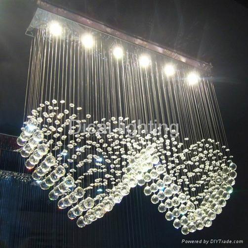 simple modern crystal ceiling lighting/lamp 8022-6 1